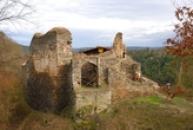 Celkový pohled na hrad.