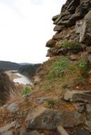 Pohled na Berounku z dávného hradu.
