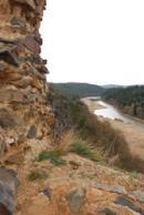 Pohled na řeku Berounku.