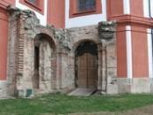 Zdejší chrám Zvěstování Panny Marie.
