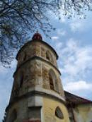 Věž kostela sv. Prokopa.