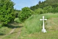 Křížek u cesty směrem na Srbeč.