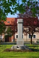 Památník padlých v 1. sv. válce.