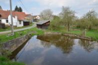 Pohled na rybníček.
