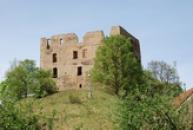 Hrad, na němž pobýval mistr Jan Hus před odjezdem do Kostnice.