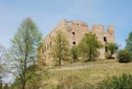Hrad, kde se natáčel film Ať žijí duchové.