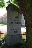 Památník mistra Jana Husa z roku 1929.