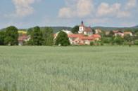 Pohled na obec.