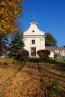 Barokní kaple sv. Michala.