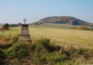 Křížek ve směru na Srbeč.