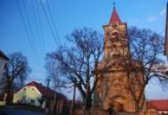 Pohled na kostel sv. Kateřiny.