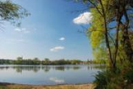 Pohled na Červený rybník.