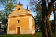 Kostel svatého Martina z roku 1774.