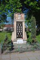 Památník padlých ve světové válce....