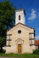 Pohled na kostelík sv. Prokopa.