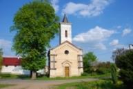 Pohled na kostelík svatého Prokopa.