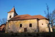 Pohled na kostel svaté Markéty.