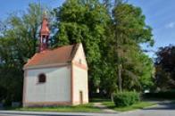 Kaple svatého Isidora.
