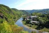 Řeka Berounka ke Zbečnu.
