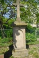 Kříž ve středu obce.