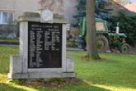 Památník obětem 1. a 2. světové války.