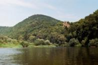 Pohled od Berounky.