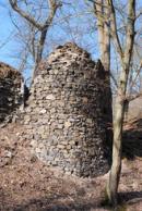 Někdejší obranná věž.