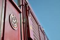 Logo slavného výrobce lokomotiv.