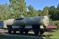 Cisternový vagón.
