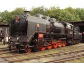 Parní lokomotiva ze Škody Plzeň.