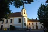 Děkanský kostel Nejsvětější Trojice.