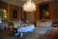Interiéry zámku.