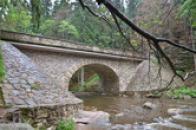 Kamenný most přes Divokou Orlici.