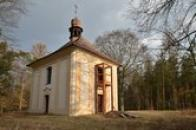 Kaple z roku 1734.