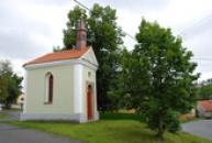 Kaplička z poloviny 19. století.