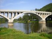 Most přes Beroumku.