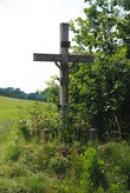 Křížek na kraji vsi.