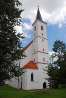 Kostel sv. Markéty z roku 1583.