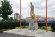 Památník na osvobození města americkou armádou.