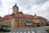 Barokní rezidence u zdejšího hradu.
