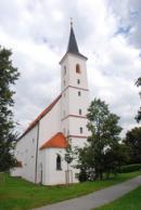 Kostel sv. Markéty.