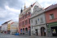 Budova České spořitelny na Velkém náměstí.
