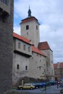 Pohled na kostel sv. Prokopa.