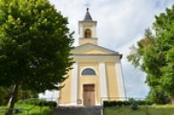 Kostel svatého Jiljí.