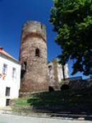 Pohled na věž.