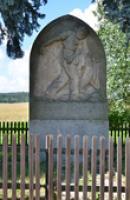 Památník v detailu.