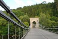Most přestěhovaný z Vltavy u Podolska.