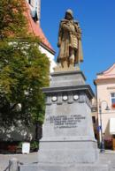 Socha Jana Žižky z Trocnova.