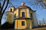Barokní kaple sv. Barbory.