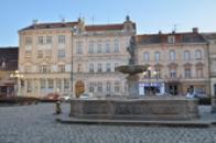 Kašna na náměstí Republiky.